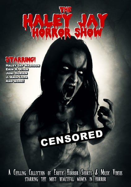 Image of The Haley Jay Horror Show DVD - Pre-order out in Oct. 2019