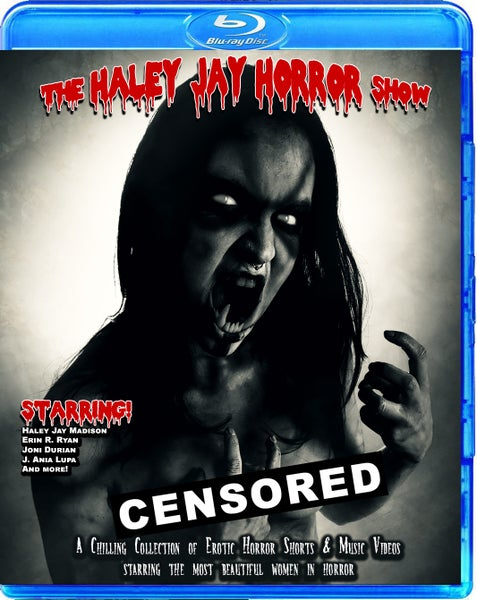 Image of The Haley Jay Horror Show Blu-Ray - Pre-order out in Oct. 2019