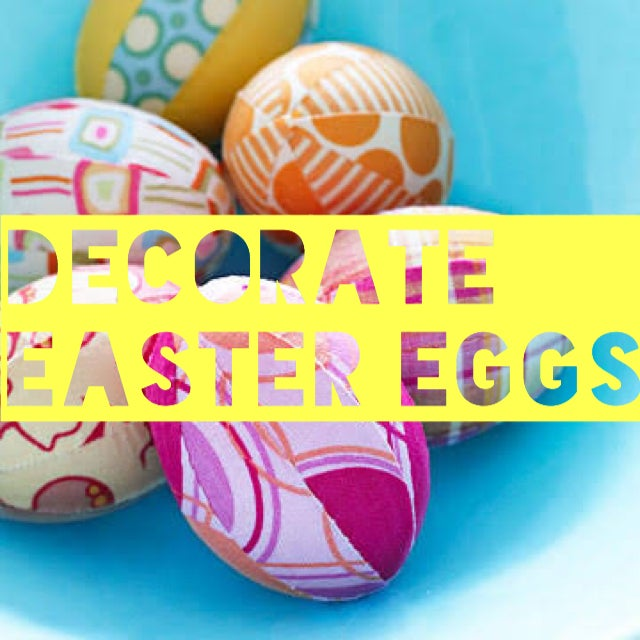 Image of Decorate Easter eggs! Monday 15 April 9-12