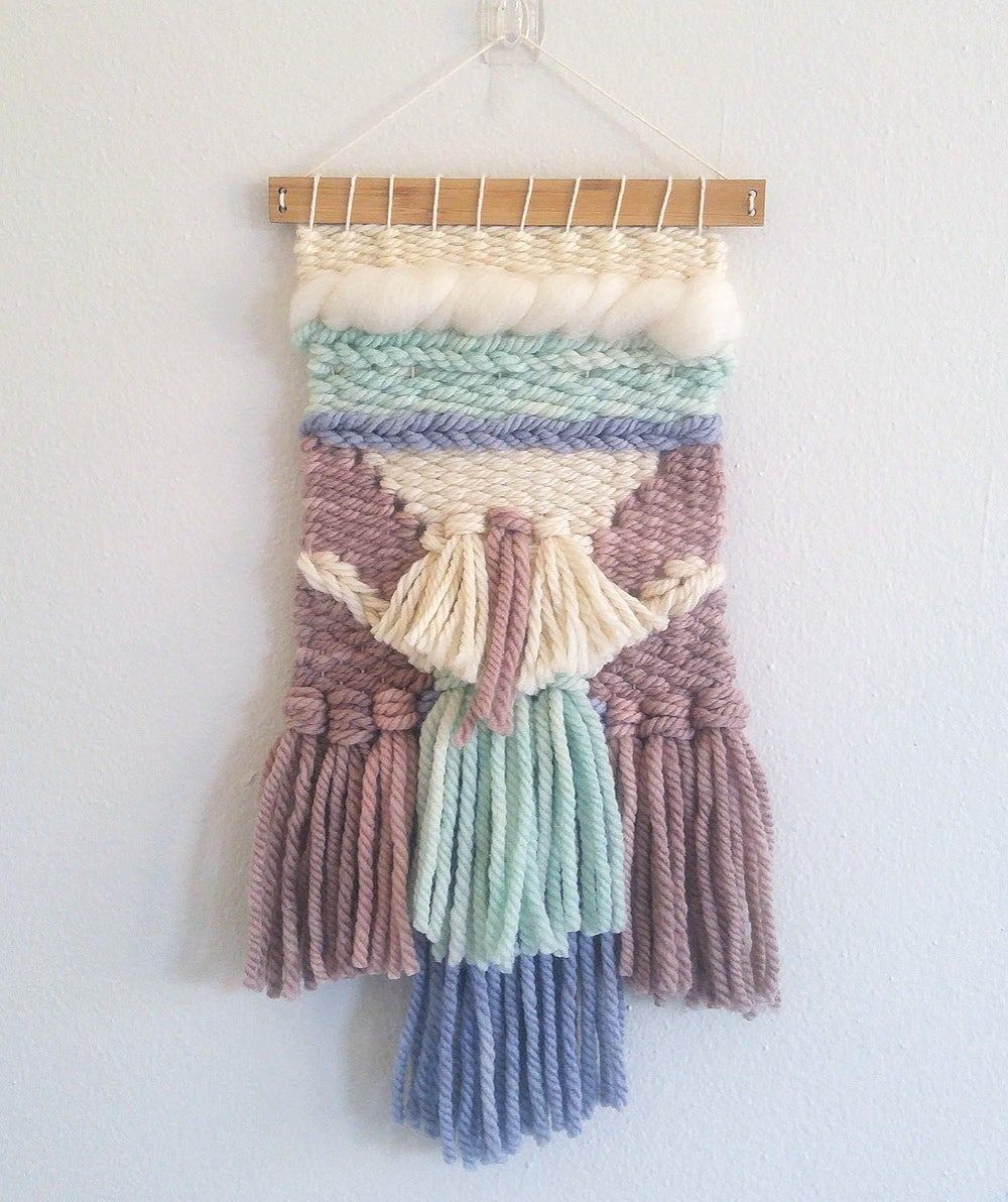 Image of Mini Woven Wall Hanging - DAPHNE