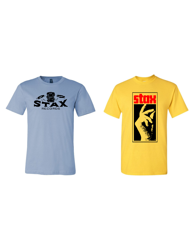 Image of Stax Records Replica Crew Tees (Both Designs)