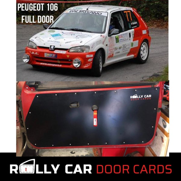 Image of Peugeot 106 - Full Door Version - Track Car Door Cards