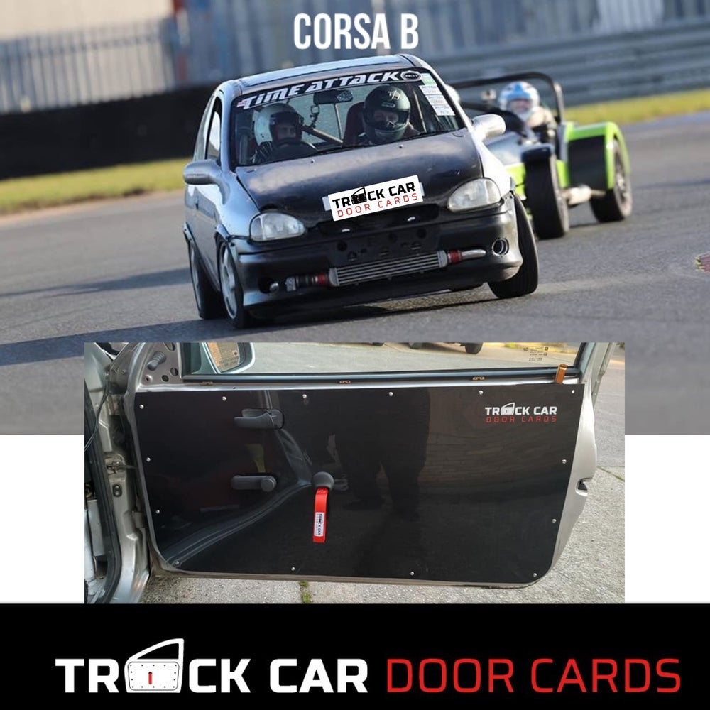Image of Vauxhall Corsa B - Track Car Door Cards