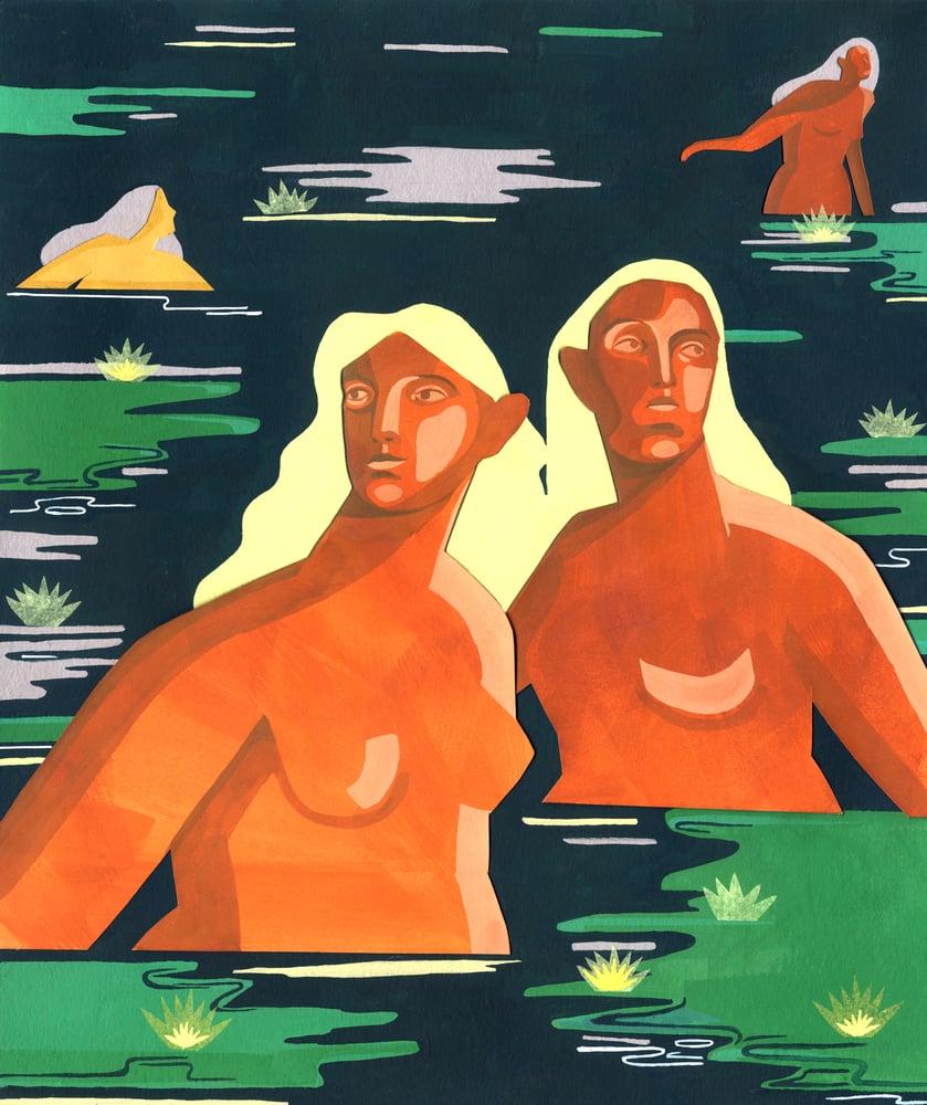 Image of 'Eleionomae' painting