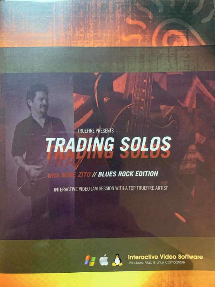 Image of Truefire Trading Solos SIGNED