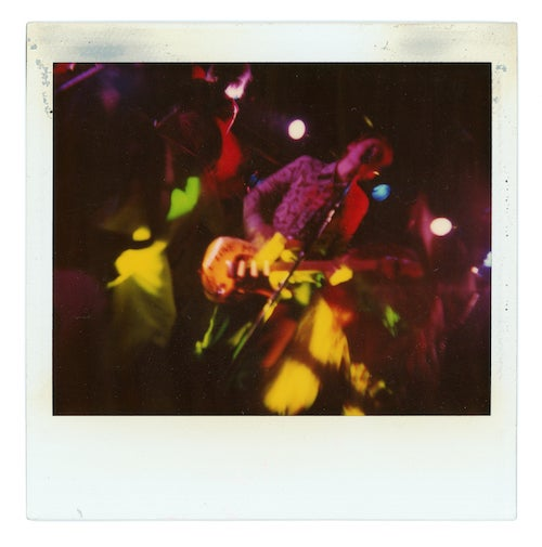 Image of My '90s - Polaroids by Craig Wedren (limited to 80 copies)