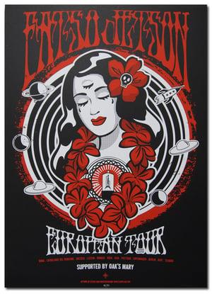 Image of FATSO JETSON - Tour poster 2010