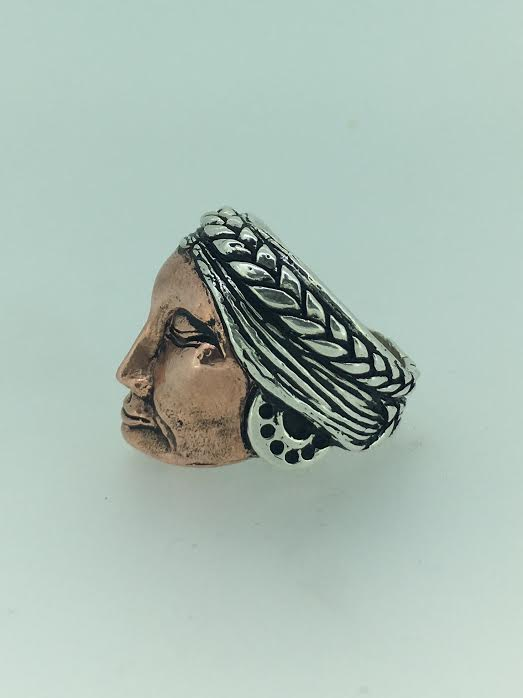 PachaMama Ring/Copper face available