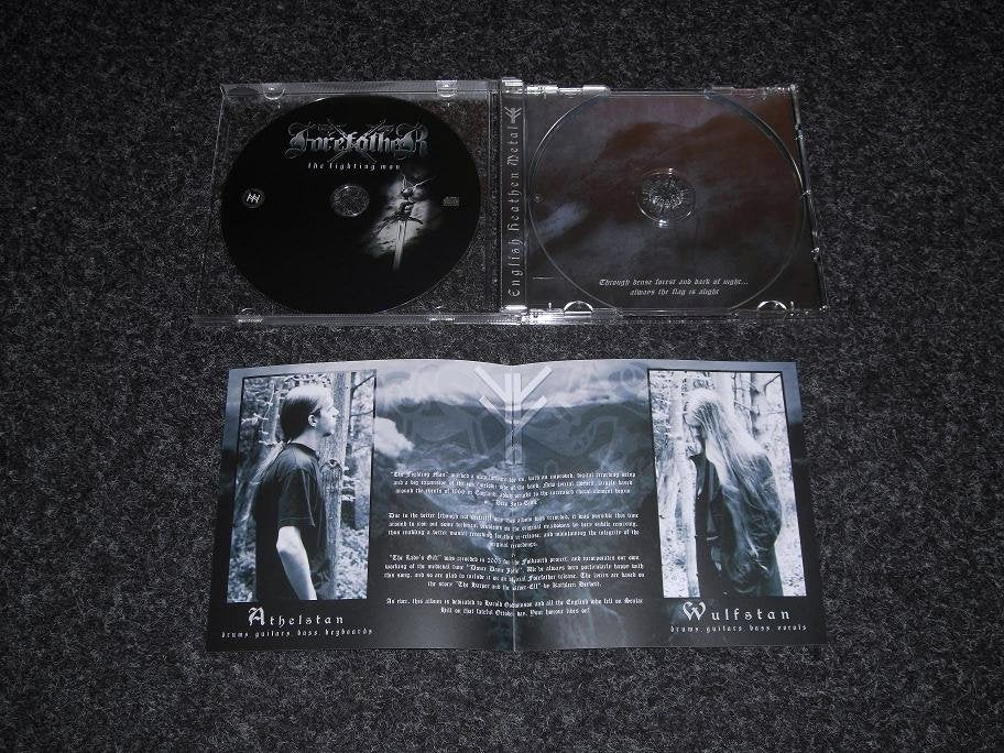 Image of Forefather - The Fighting Man (2015 re-issue with bonus track) CD