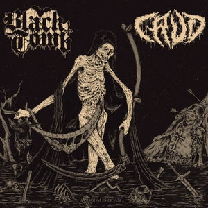 Image of BLACK TOMB / CRUD - Doom Is Dead (TOTEM CAT EDITION)