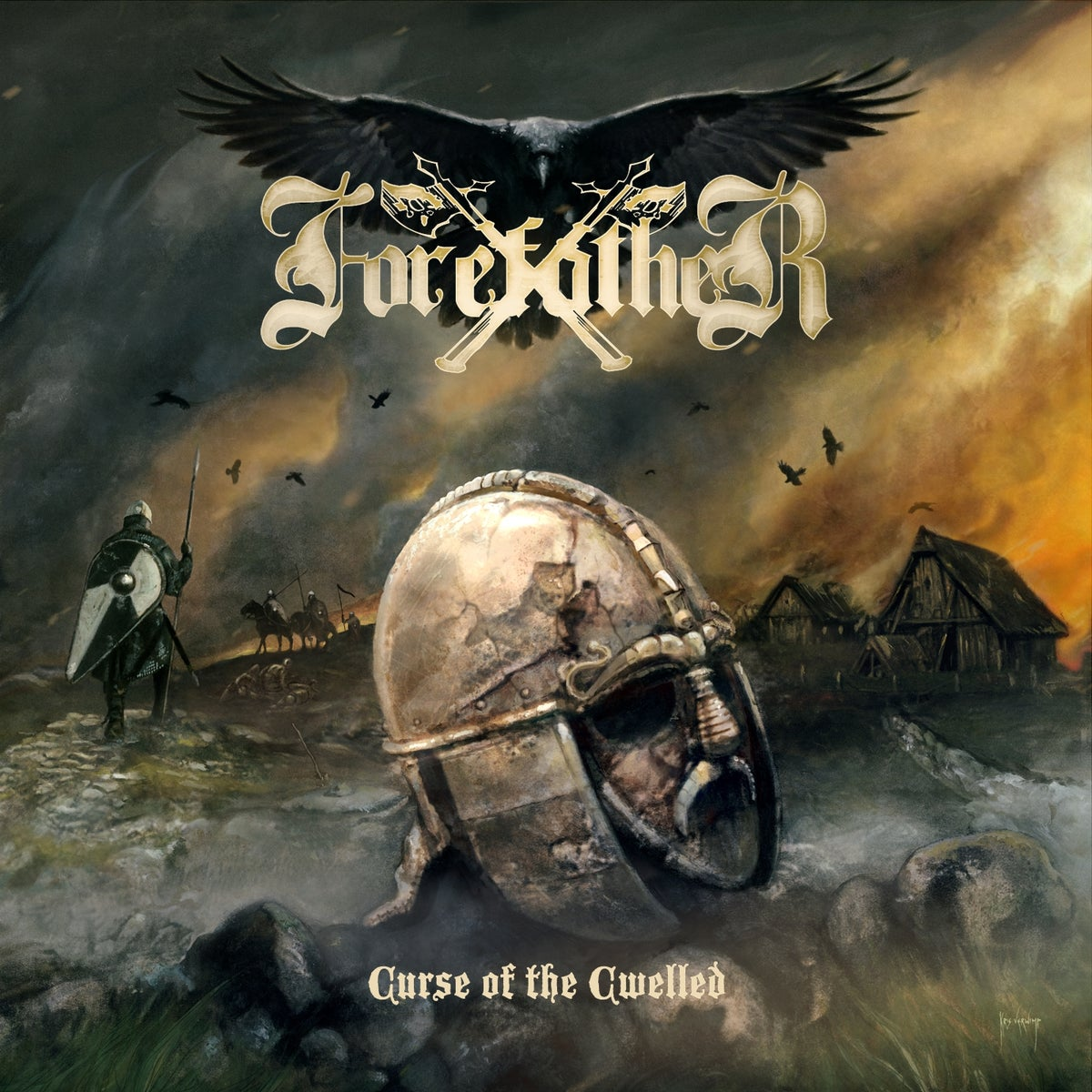 Image of Forefather - Curse of the Cwelled CD