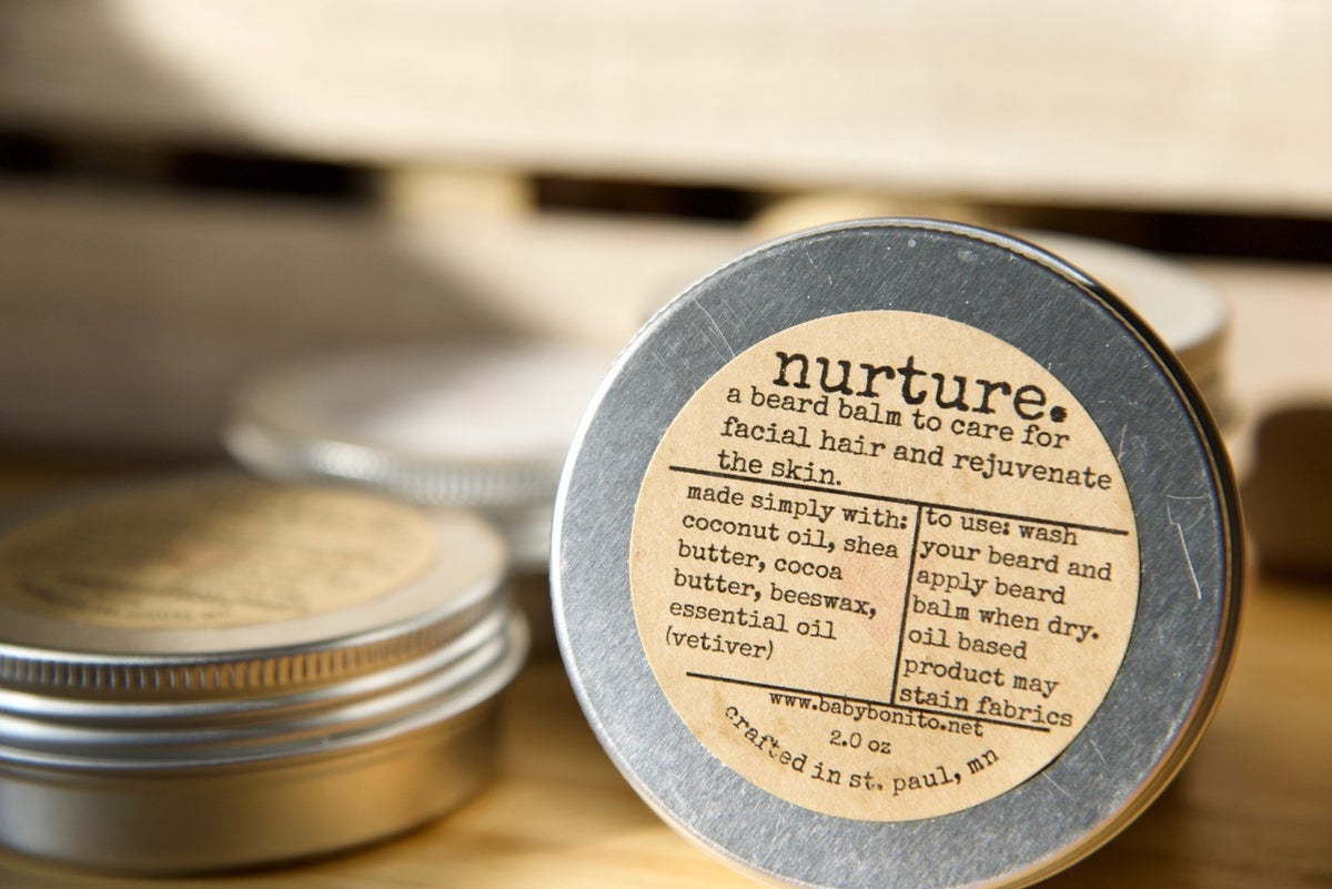 Image of nurture. (beard balm)