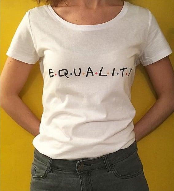 Image of T-SHIRT EQUALITY - FEMME et HOMME