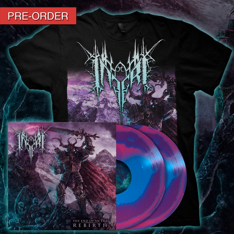 Image of INFERI - The End of an Era | Rebirth - LP/Tee [Cursed]