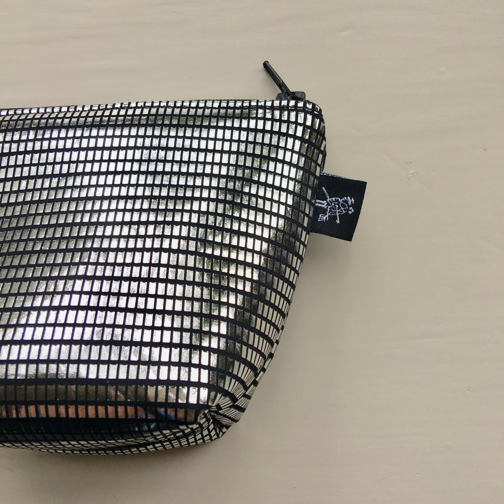 Image of H+TI LIMITED EDITION HANDMADE DISCO POUCH