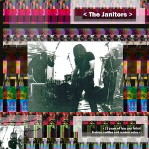 Image of The Janitors - 15 Years of Fuzz and Folköl (Solid Yellow Vinyl) CARDINAL FUZZ