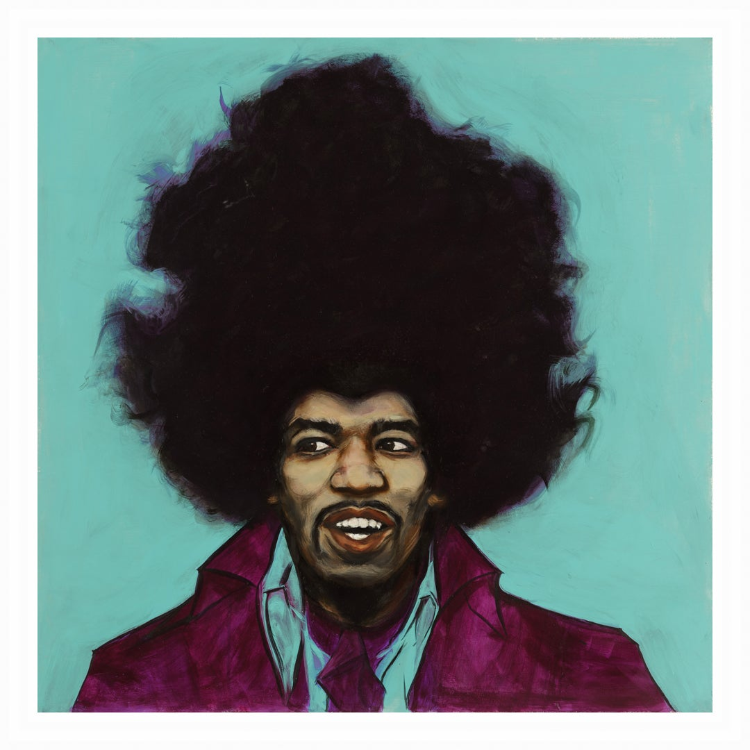 "Image of Original ""JIMI"" LIMITED RUN PRINT"