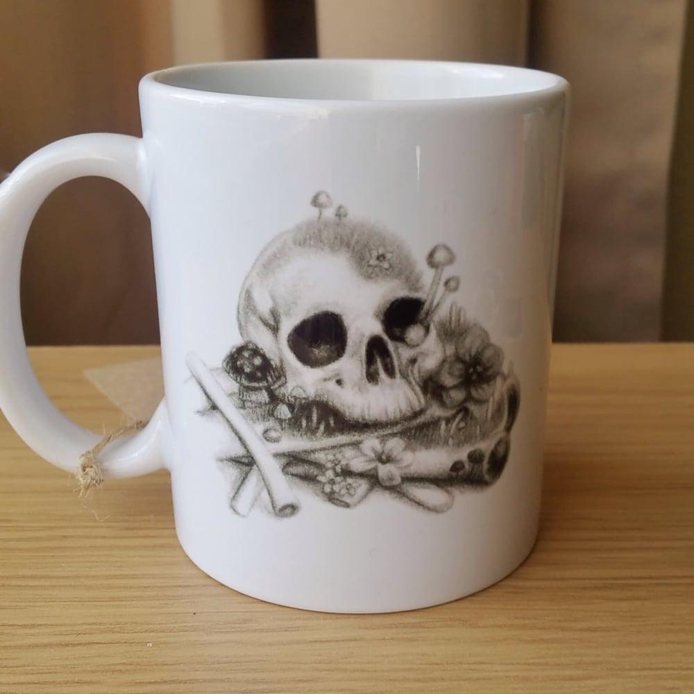 Image of Skeleton Mug