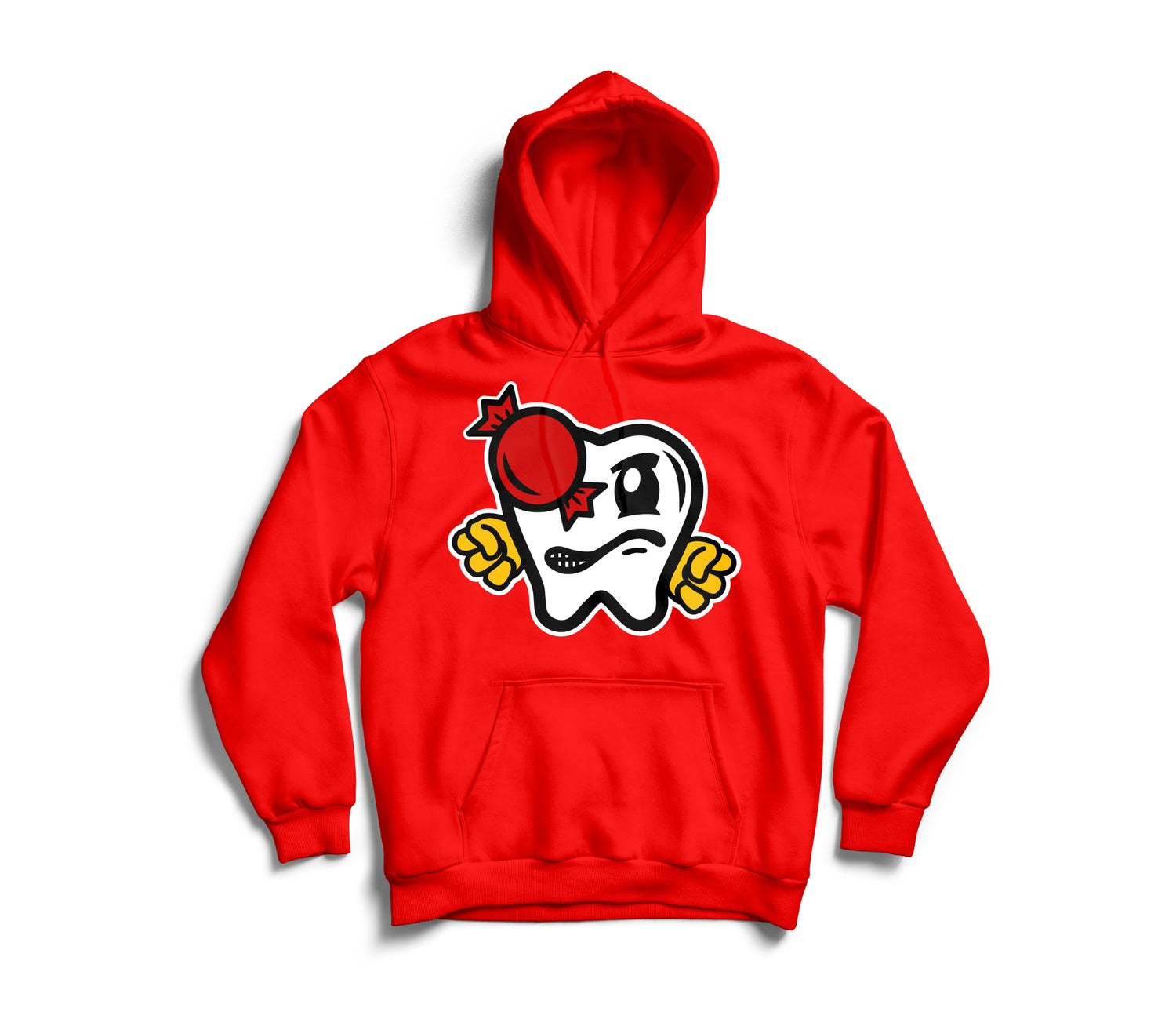 Image of OG VITAS HOODY RED