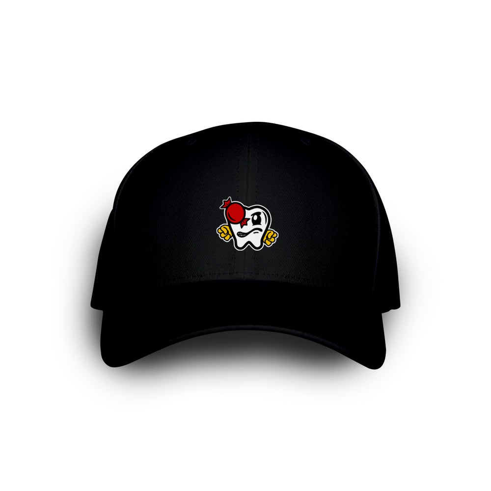 Image of OG VITAS DAD CAP BLACK
