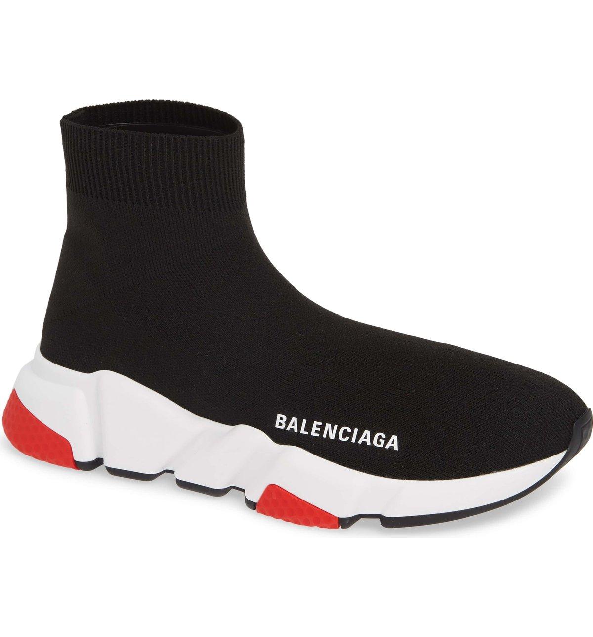 Balenciaga Speed Trainer Black Red