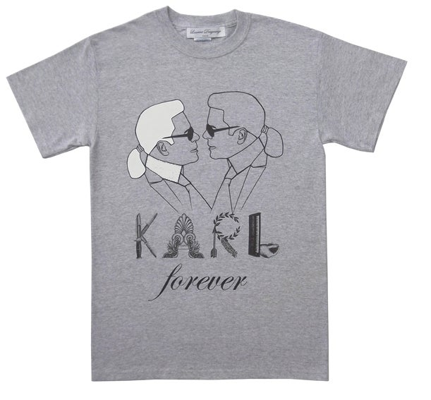 Image of KARL FOREVER TEE SHIRT