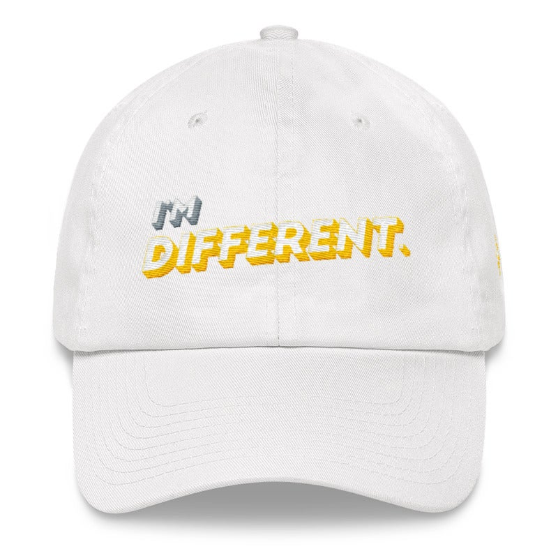 25c125dbc38 Image of I M DIFFERENT WOOL BLEND DAD HAT