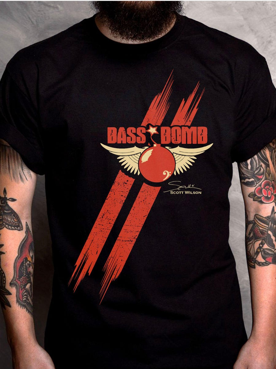 Image of Limited Edition Bass Bomb Tee Shirt