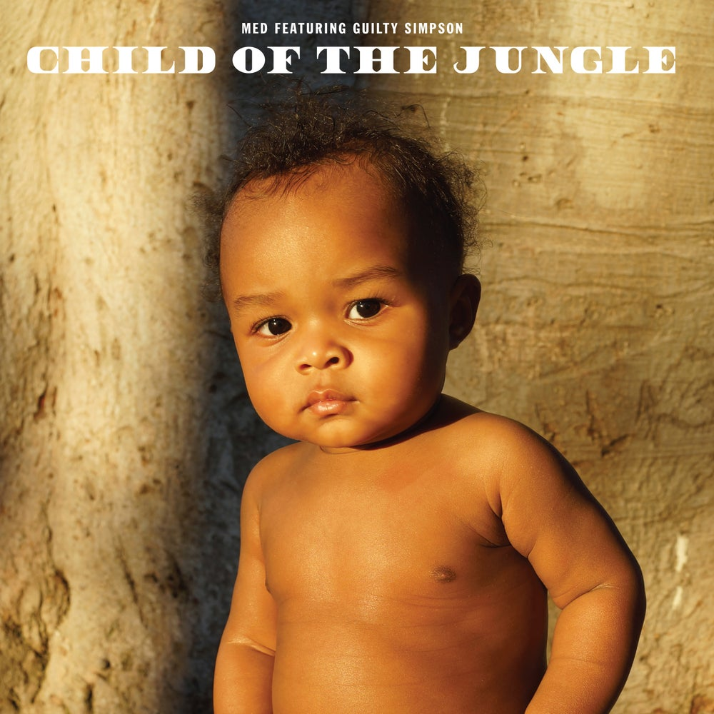 Image of MED feat Guilty Simpson - Child Of The Jungle (CD)