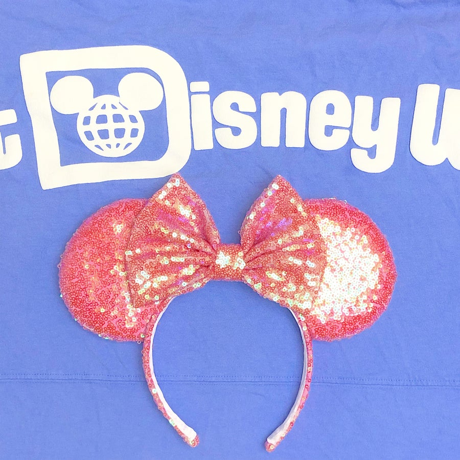 Image of Light Pink Pixie Sequin Ears