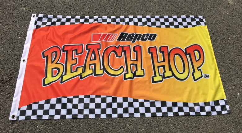 Image of Repco Beach Hop Festival Flag