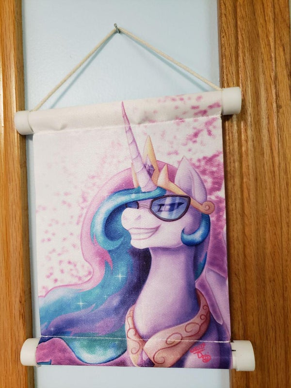 Image of The Boss Miniature Wall Scroll