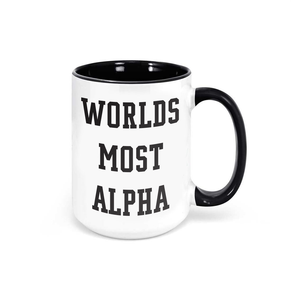 Worlds Most Alpha Mug