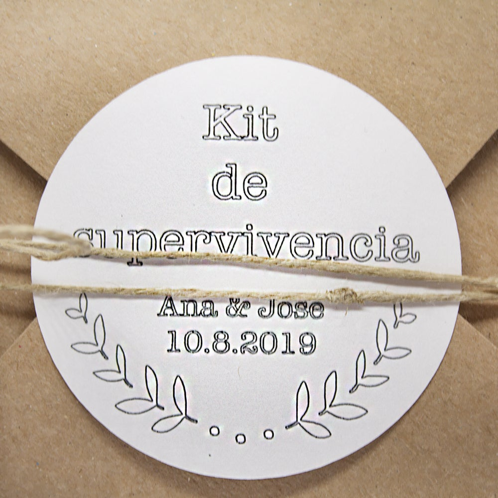 Image of Kit supervivencia caixa / kit supervivencia caja