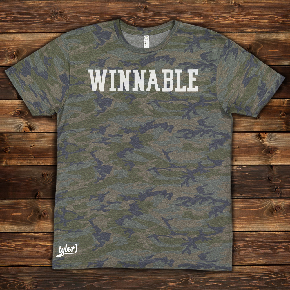 Winnable Camo Tee