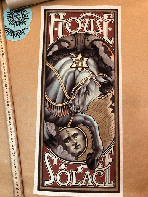 Image of House Of Solace Poster
