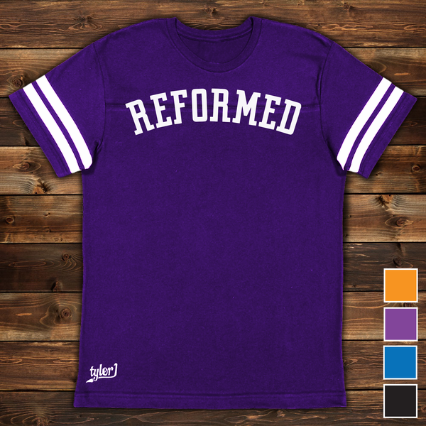 Image of Reformed Premium Ringer Tee - Purple