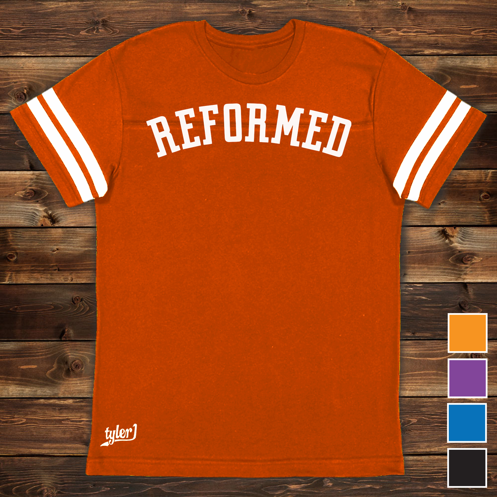 Image of Reformed Premium Ringer Tee - Orange