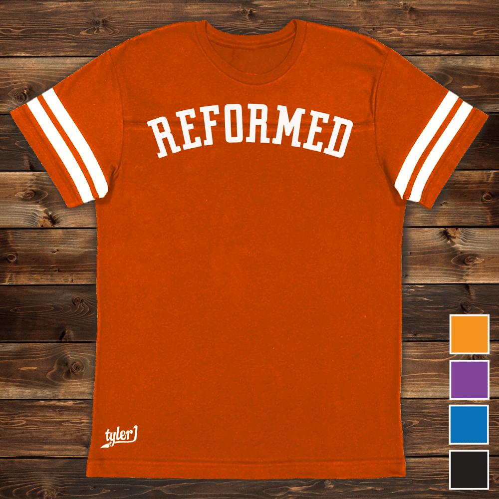 Reformed Premium Ringer Tee - Orange