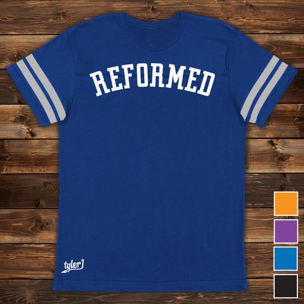 Image of Reformed Premium Ringer Tee - Blue