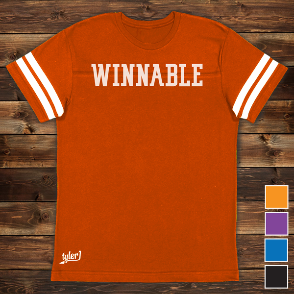 Image of Winnable Premium Ringer Tee - Orange