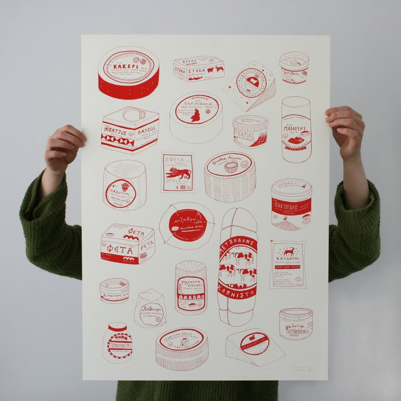 Image of Tyri - Screenprinted Poster