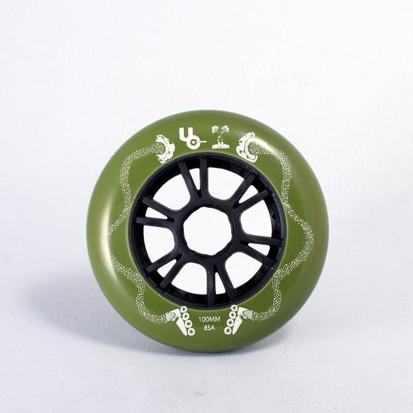 Image of Pre Order - MUSHROOMBLADING V3 100mm wheels (8pk)