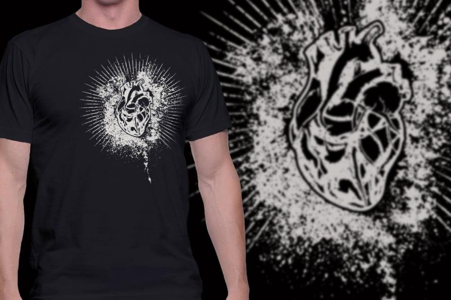 Image of Sacred Heart MKII - t-shirt