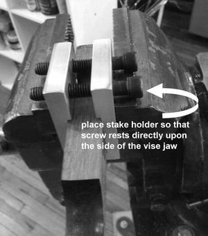 Image of Large Anticlastic Block Holder