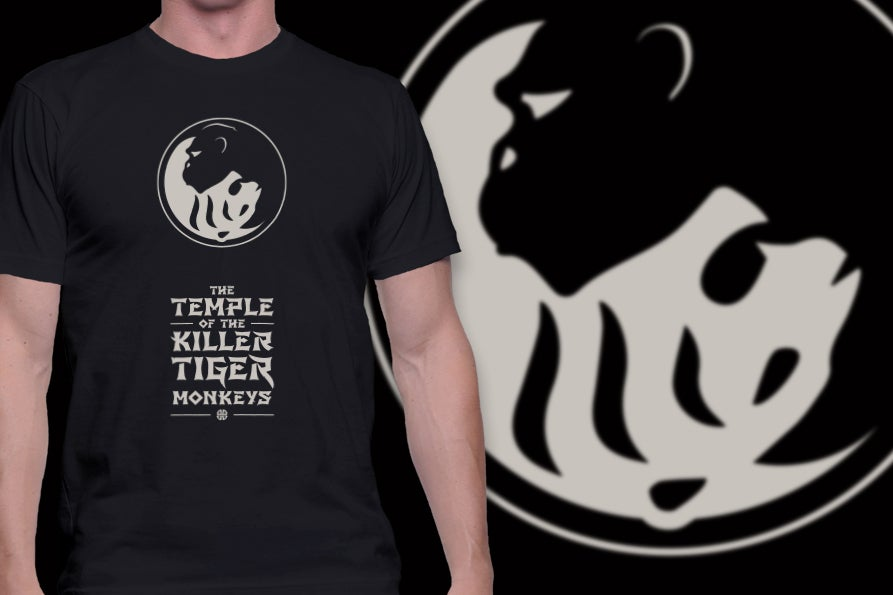 Image of Killer Tiger Monkeys t-shirt