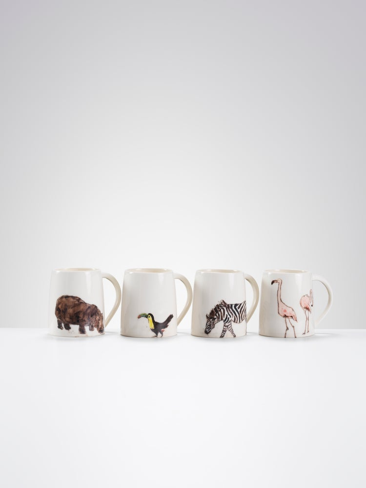 Image of One of a kind Animal Mugs
