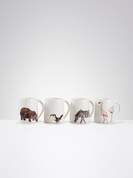 Image of One of a kind Animal Mugs