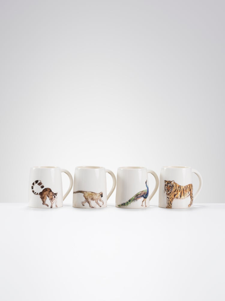 Image of One of a kind Animal Mugs ii