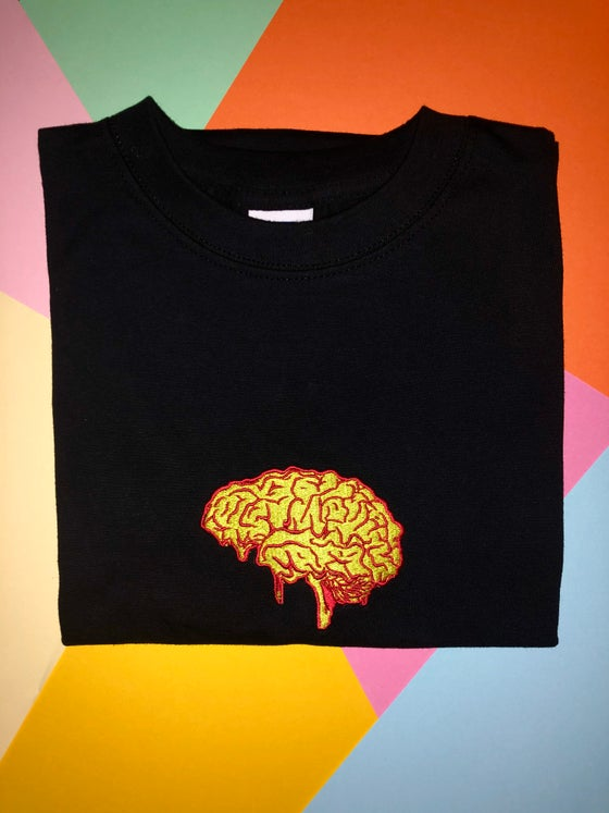 Image of Dirtbrain embroidered T-shirt